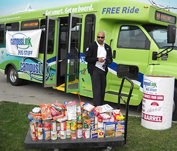 Citilink Big Bus Stuff to benefit Community Harvest Food bank