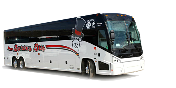 Intercity bus service operated by Greyhound/Miller Trailways