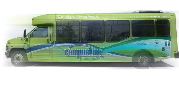 photo of a campusLink bus