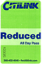 Reduced All Day Pass
