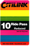 Reduced 10-Ride Card