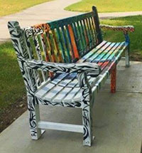 Riverfront Fort Wayne Art Bench Project